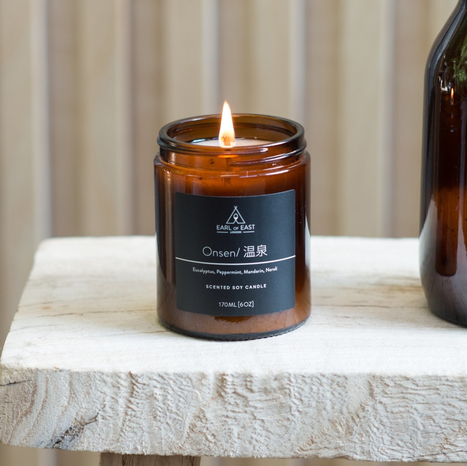Earl of East Soy Wax Mid Size Candle - Onsen 170ml [6oz]
