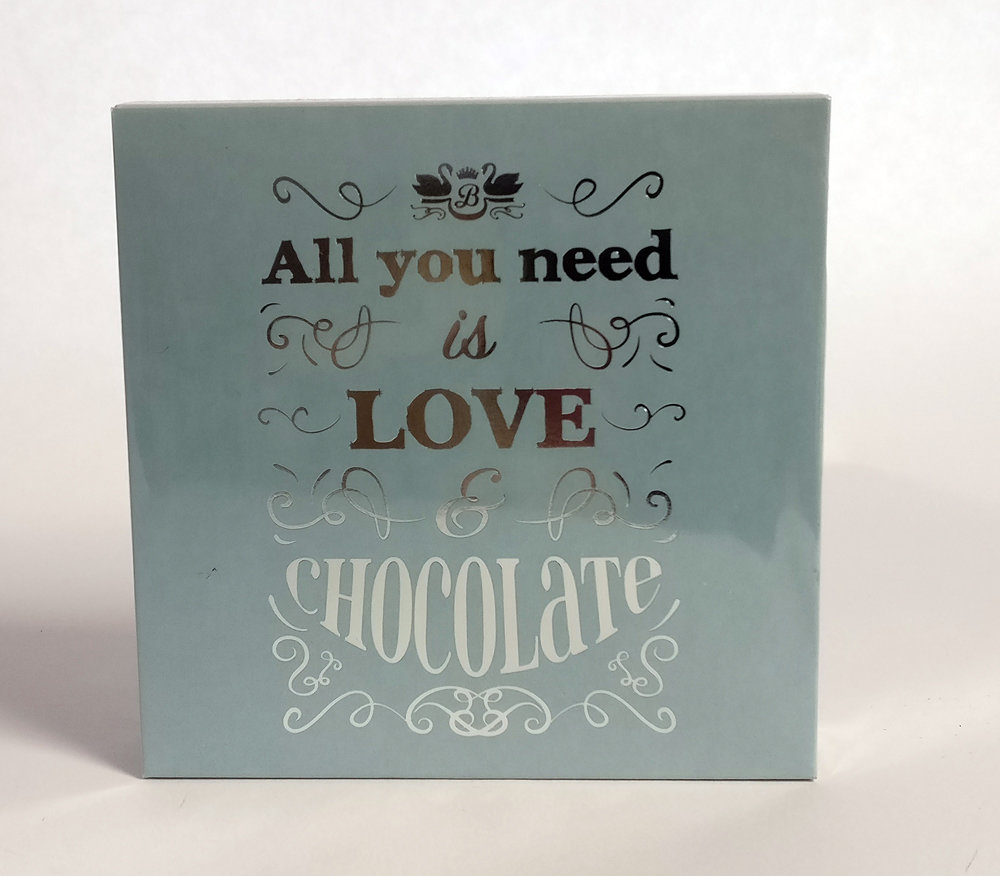 """""""All you need is Love & Chocolate"""" Luxury Anglesey Sea Salted Caramel Truffles"""