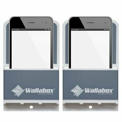 Wallabox® Original Colors 2-Pack SALE: Steel Gray