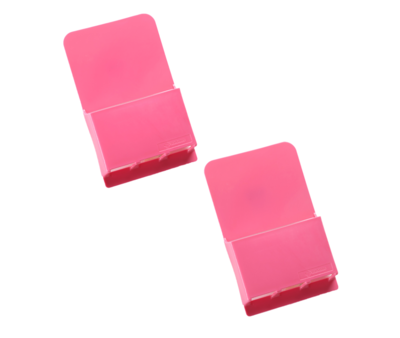 Wallabox® New Design!  2-Pack Set: Hot Pink