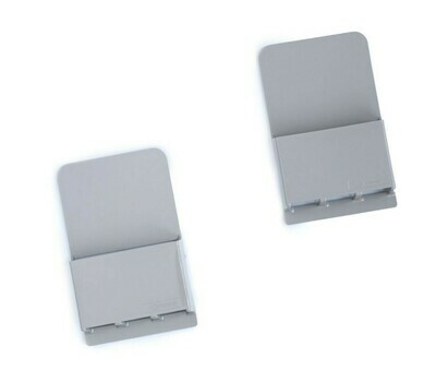 Wallabox® New Design!  2-Pack Set: Steel Gray