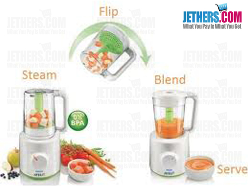 Philips Avent Scf87021 Combined Baby Food Steamer And Blender Preorder