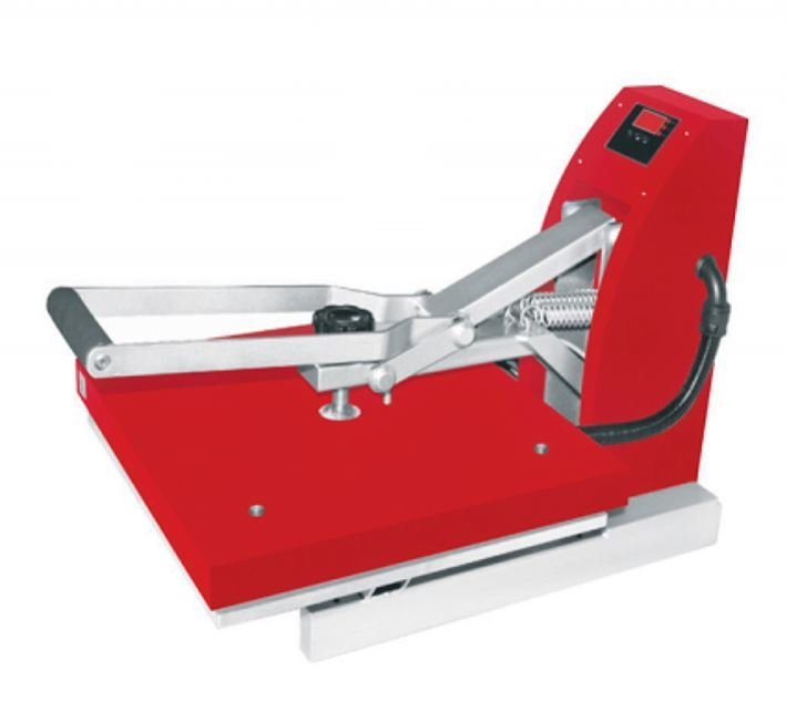 Red Siser Heat Press 15x15
