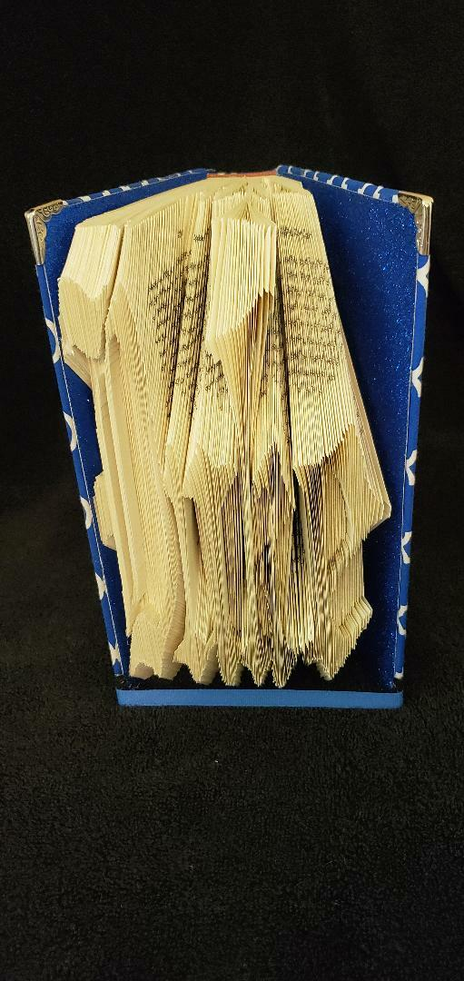 Duke University cut and fold book