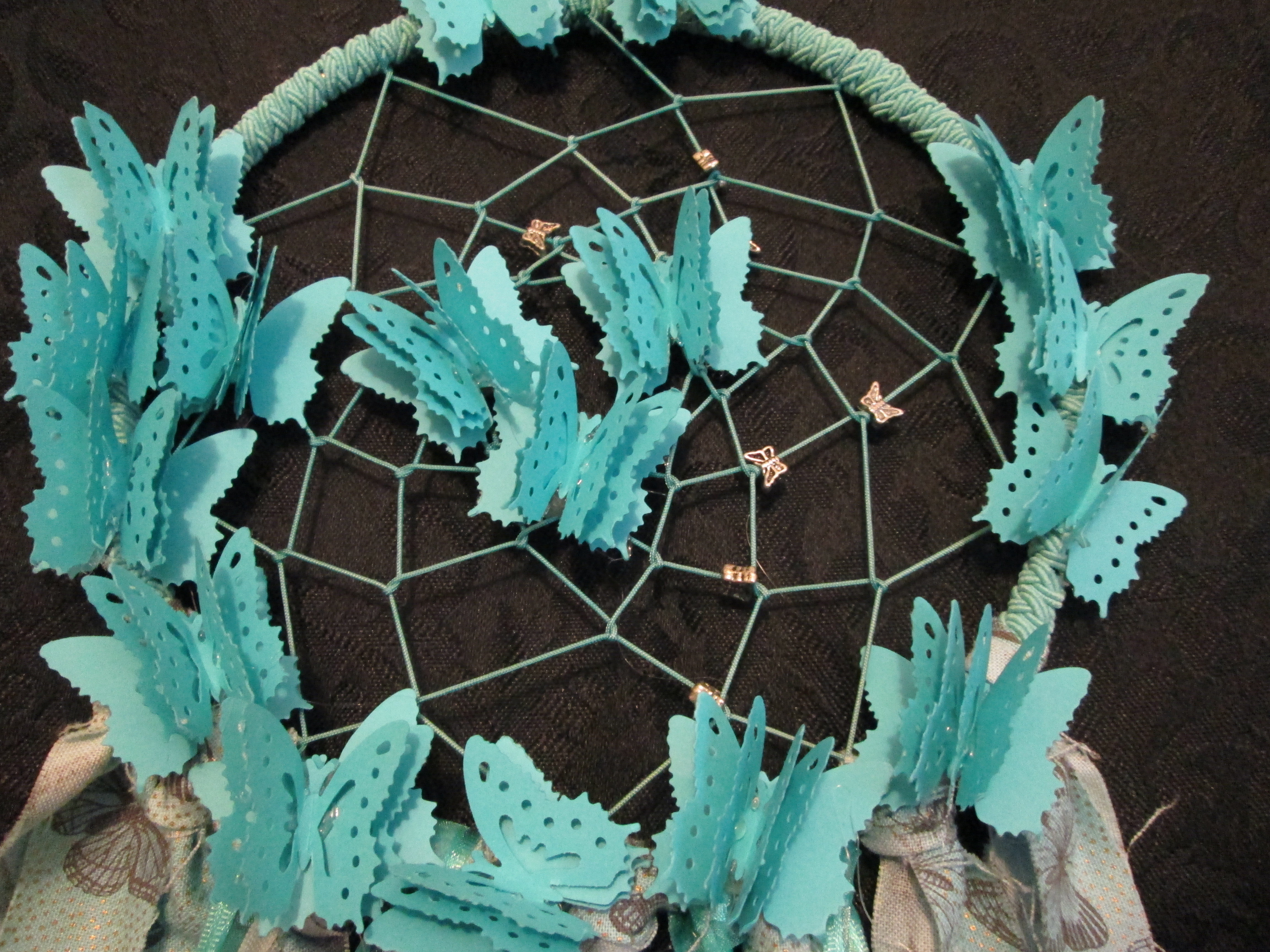 Turquoise Dreamcatcher Small