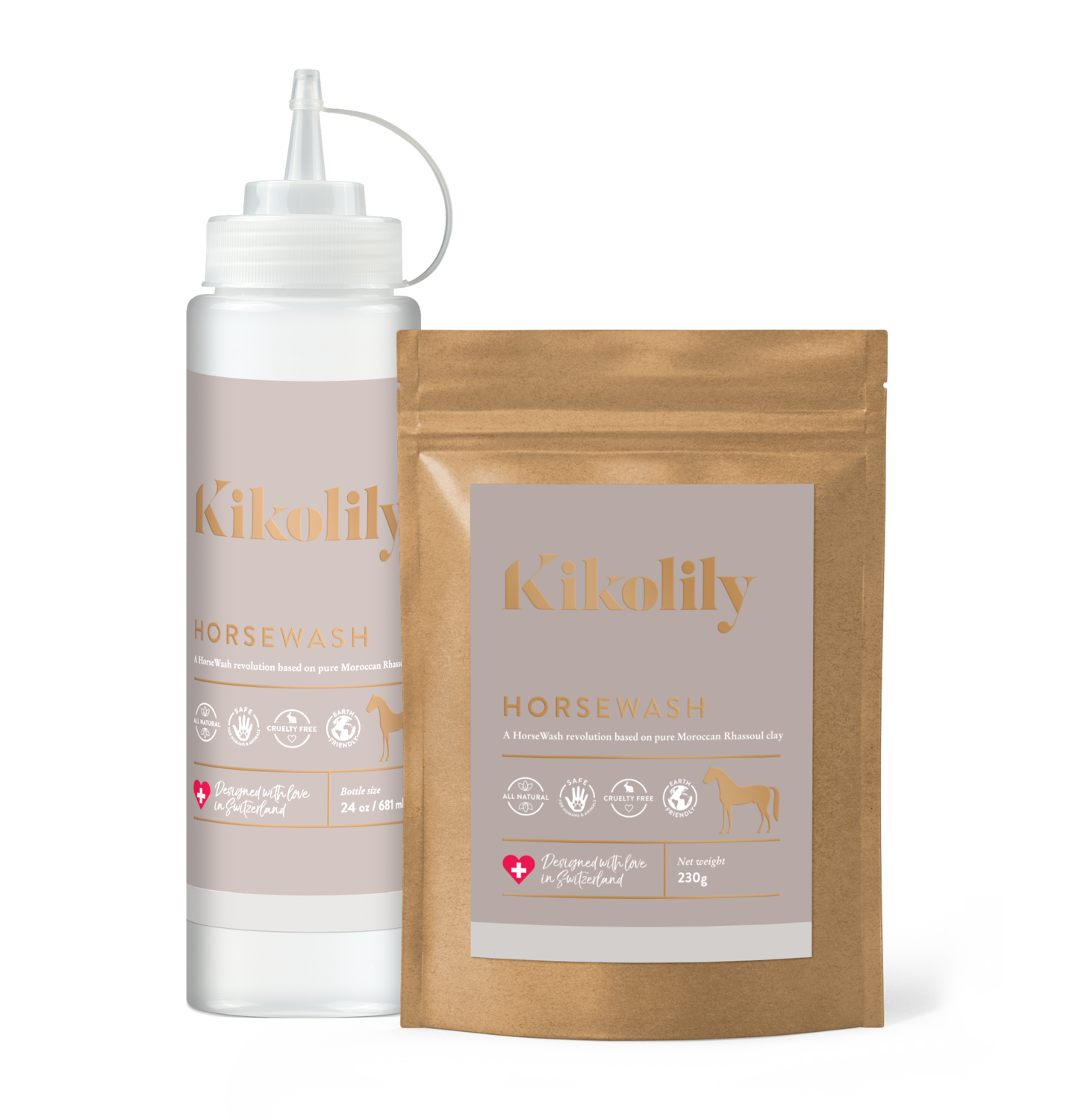 Kikolily Horse Wash Natural