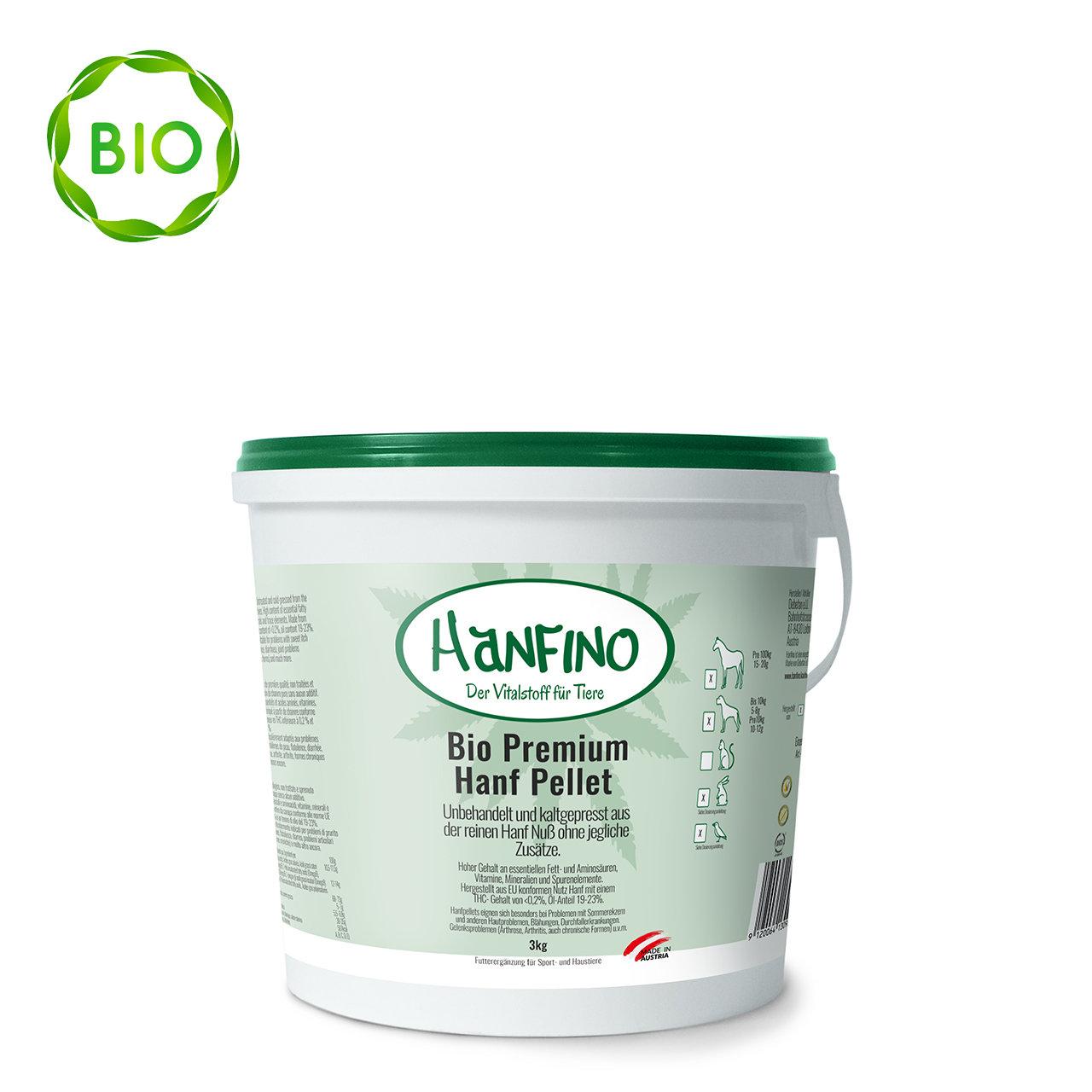 Hanfino Bio Premium Hanfsamenpellets 00350