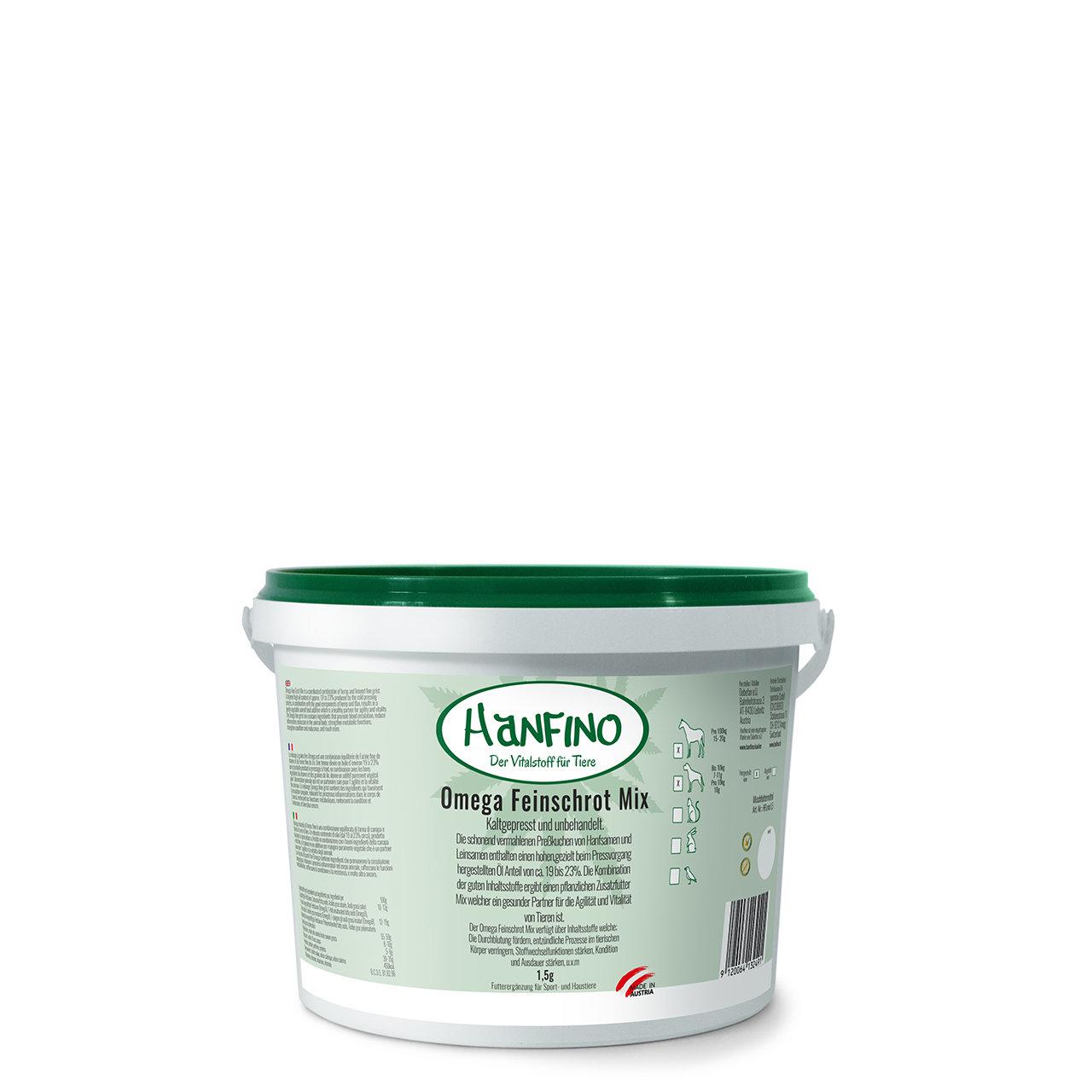 Hanfino Omega Feinschrot Mix Hanf_Leinsamen 00354