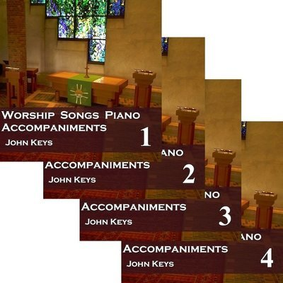 Worship Songs Piano Accompaniments: 163 MP3 downloads