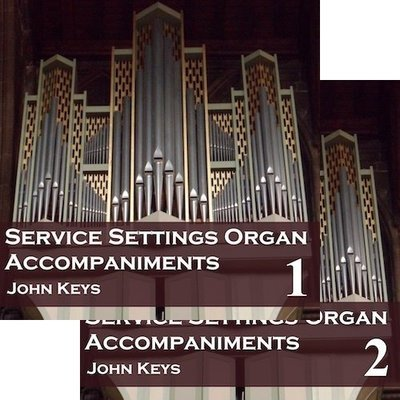 Service Settings Organ Accompaniments MP3 downloads