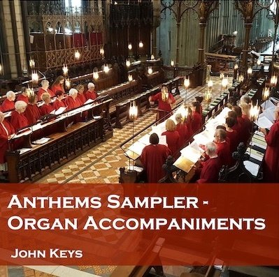 Anthems Accompaniments Sampler (9 anthems) MP3 download