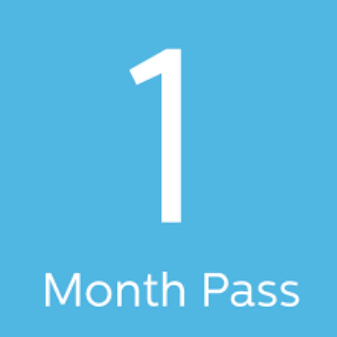 1 Month Pass 00001