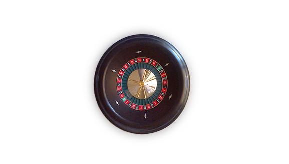18' Roulette Wheel