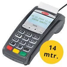 Thermorollen für: für Ingenico   Laufmeter: 14mtr.   2Kt.àVE50   Nettopreis: €32,00