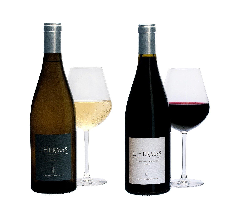 3 bouteilles L'HERMAS BLANC - Millésime 2017 + 3 bouteilles L'HERMAS ROUGE - Millésime 2017