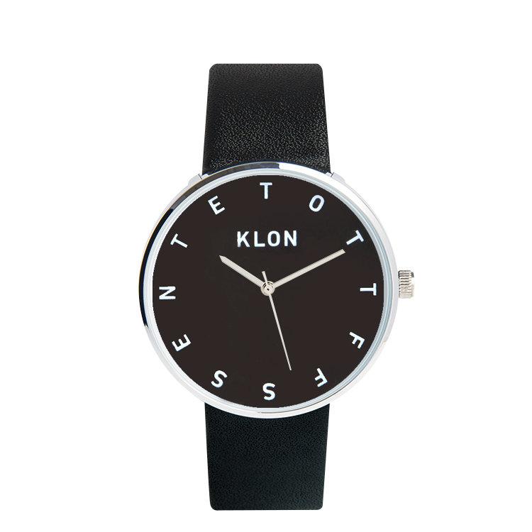 KLON ALPHABET TIME THE WATCH 【BLACK SURFACE】