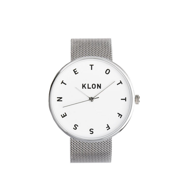 KLON ALPHABET TIME THE WATCH -MESH BELT-
