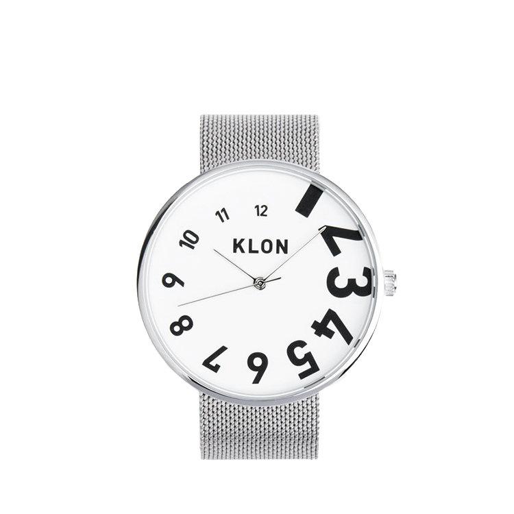 KLON EDDY TIME THE WATCH -MESH BELT-