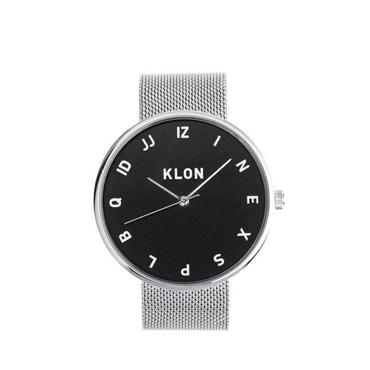 KLON MOCK NUMBER -MESH BELT-【BLACK SURFACE】