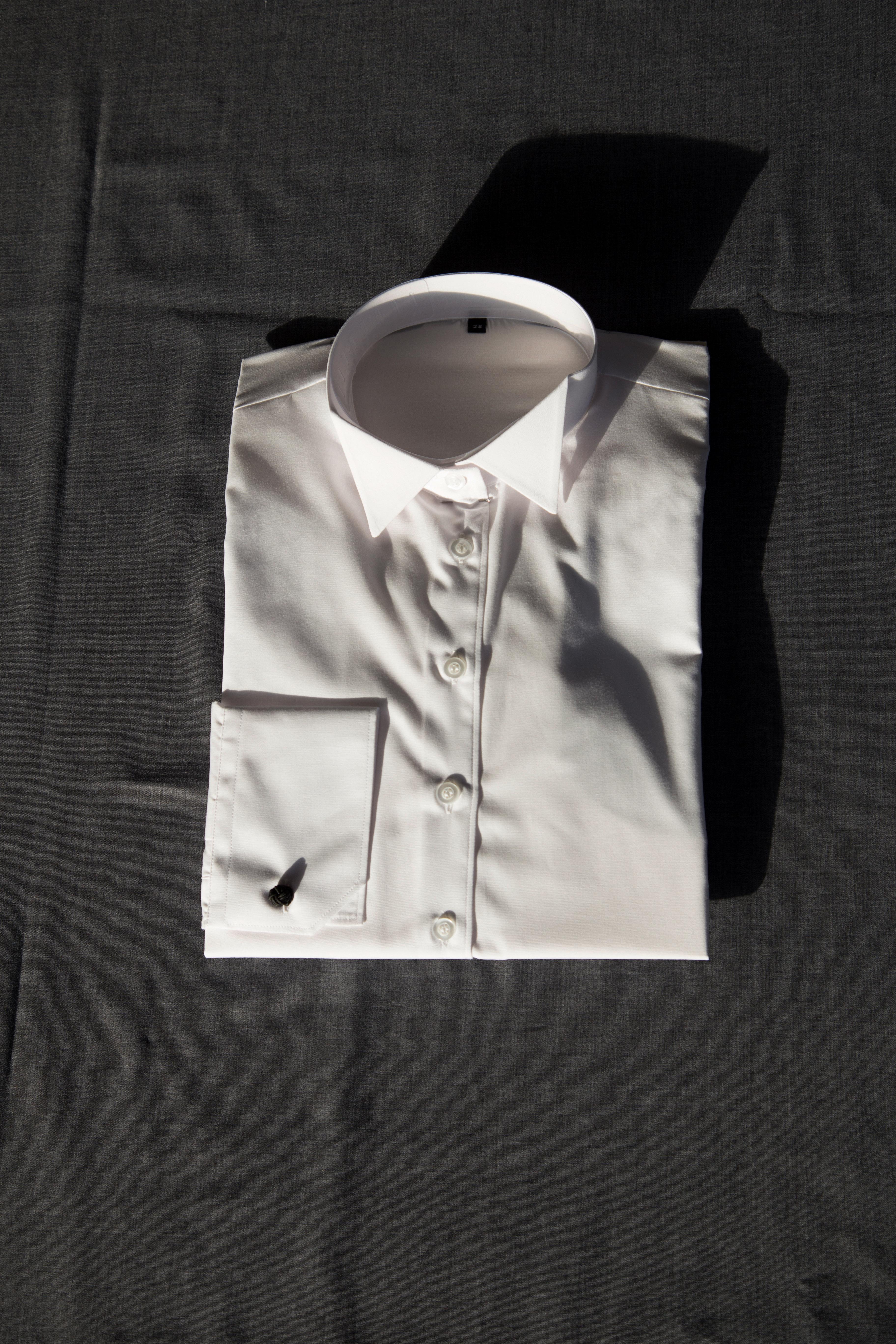 Dameskjorte med knækflip 00063