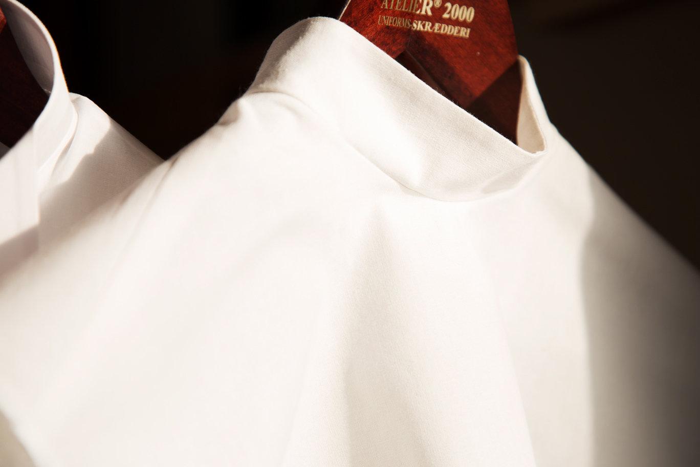 Snydeskjorte med kinakrave