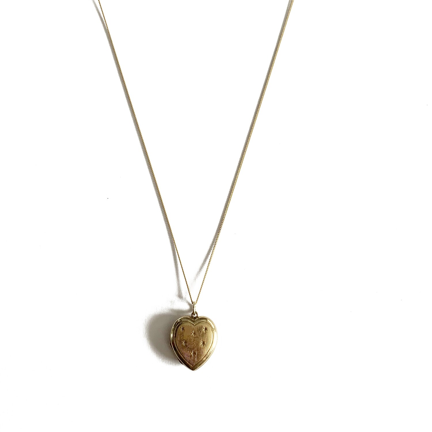 Circa 1915 Gold Locket