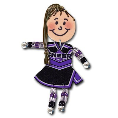 Cheer - Black, purple, white