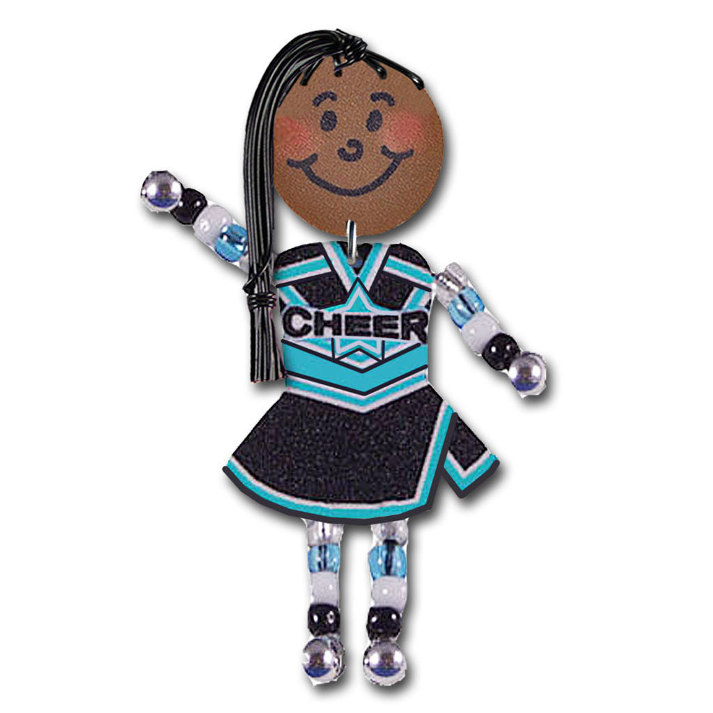 Cheer - Black, teal, white