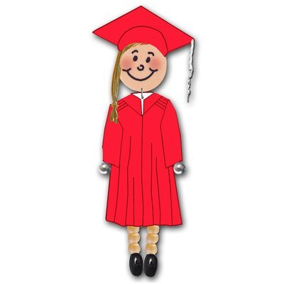 Grad Girl - Choose from 5 Gown Colors