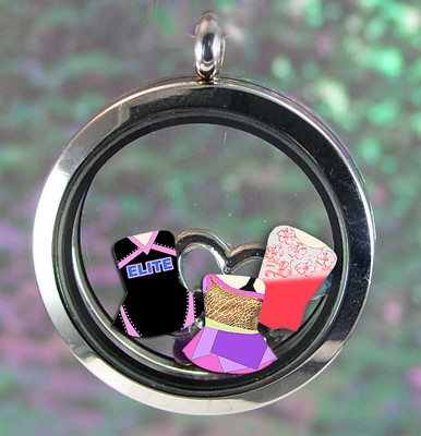 New Design or Previous Year Costume Locket Charms