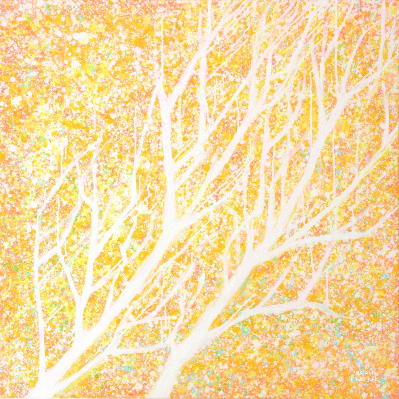 """Valoa kohti"", 14,8x14,8cm kortti"