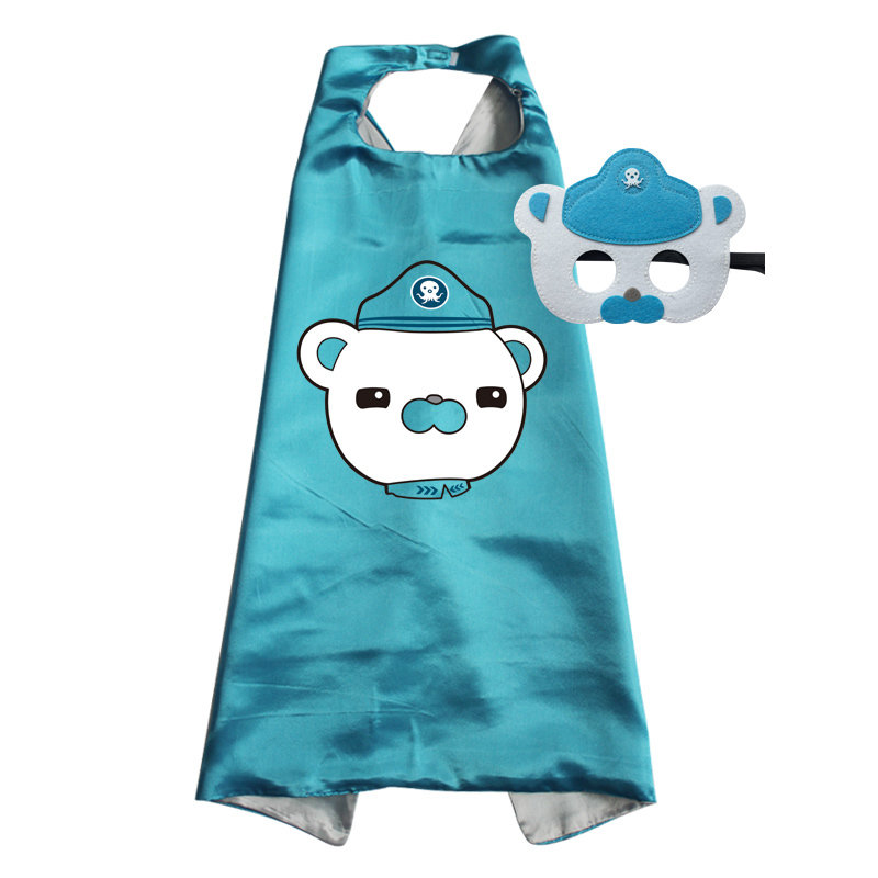 Octonauts Captain Barnacles Cape and Mask Set 00008