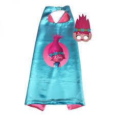 Trolls Princess Poppy Cape and Mask Set 00009