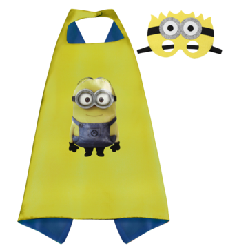 Minion Cape and Mask Set 00010