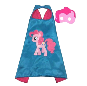 My Little Pony Pinkie Pie Cape and Mask Set 00014