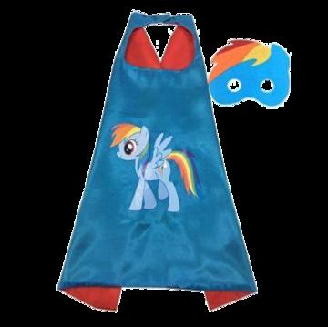 My Little Pony Rainbow Dash Cape and Mask Set 00015