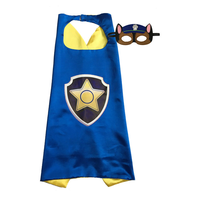Paw Patrol Chase Cape and Mask Set 00012