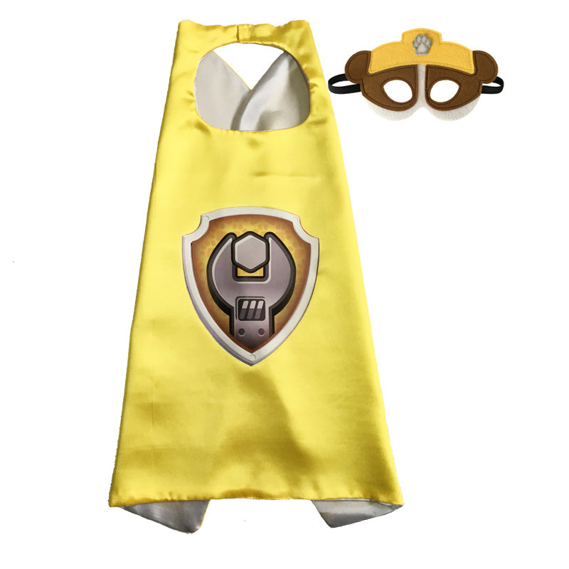 Paw Patrol Rubble Cape and Mask Set 00023