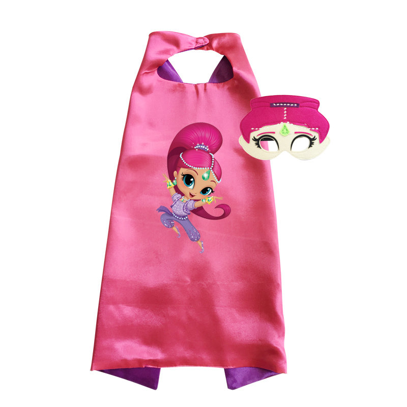 Shimmer and Shine Cape and Mask Set - Shimmer 00030
