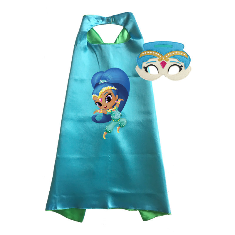 Shimmer and Shine Cape and Mask Set - Shine 00031
