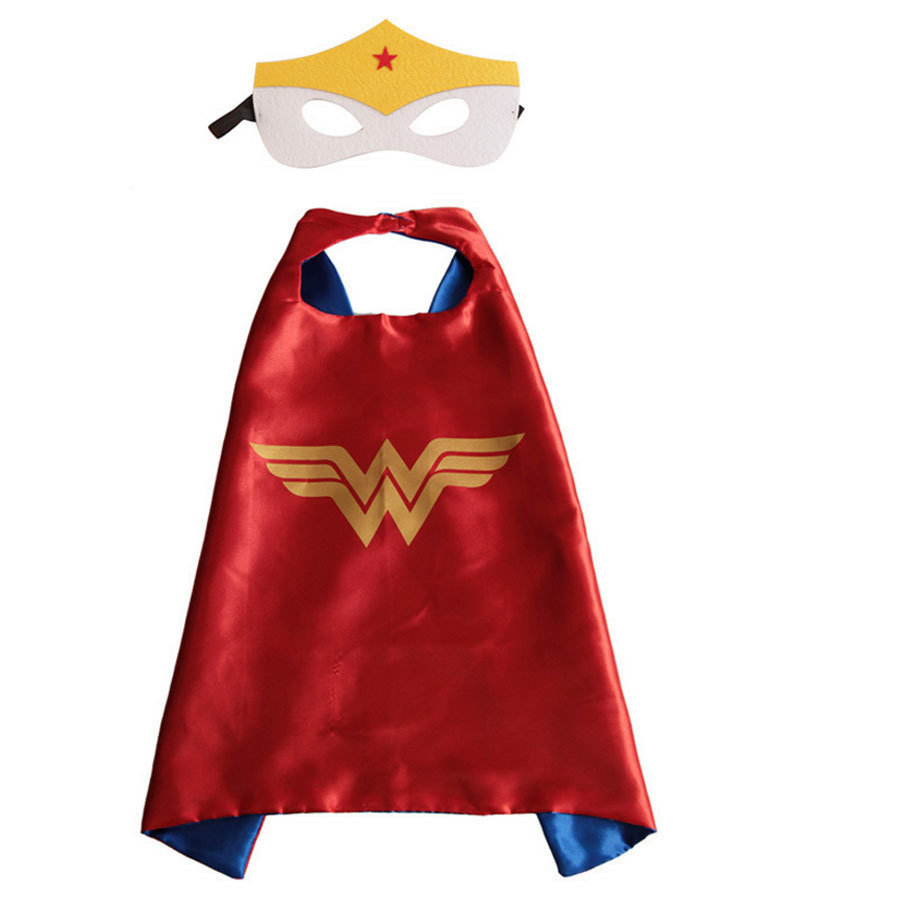 Wonderwoman Dress Up Cape and Mask Set 00042