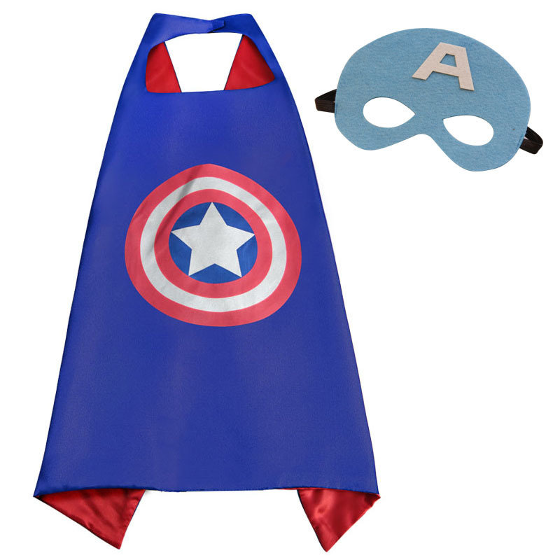 Captain America Dress Up Cape and Mask Set 00063