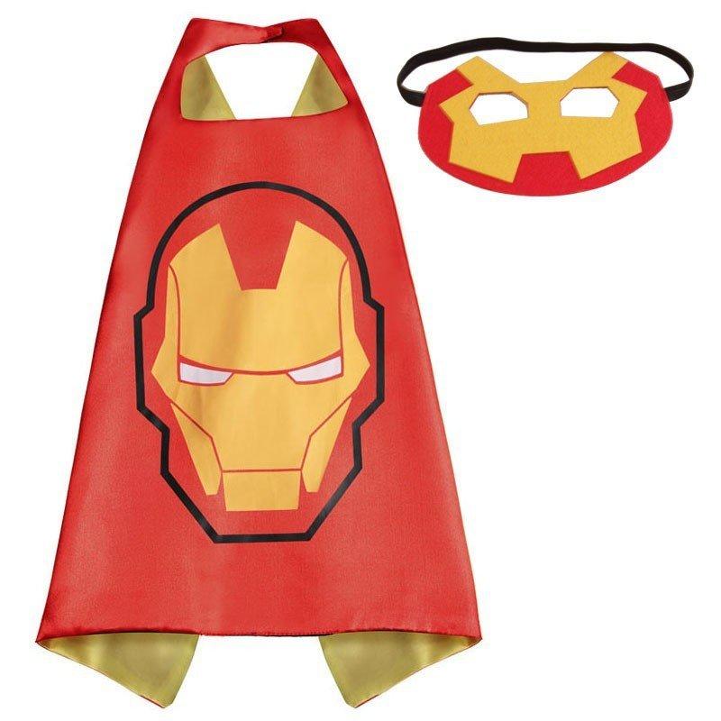 Ironman Dress Up Cape and Mask Set 00044