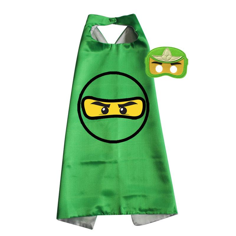 Ninjago Green Cape and Mask Set - Lloyd 00051