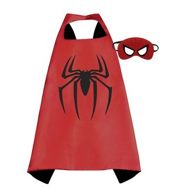 Spider Man Dress Up Cape and Mask Set