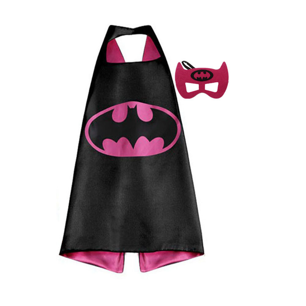 Bat Girl Dress Up Cape and Mask Set 00071