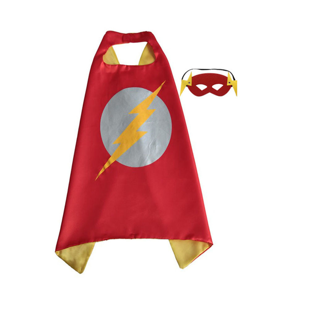 The Flash Dress Up Cape and Mask Set