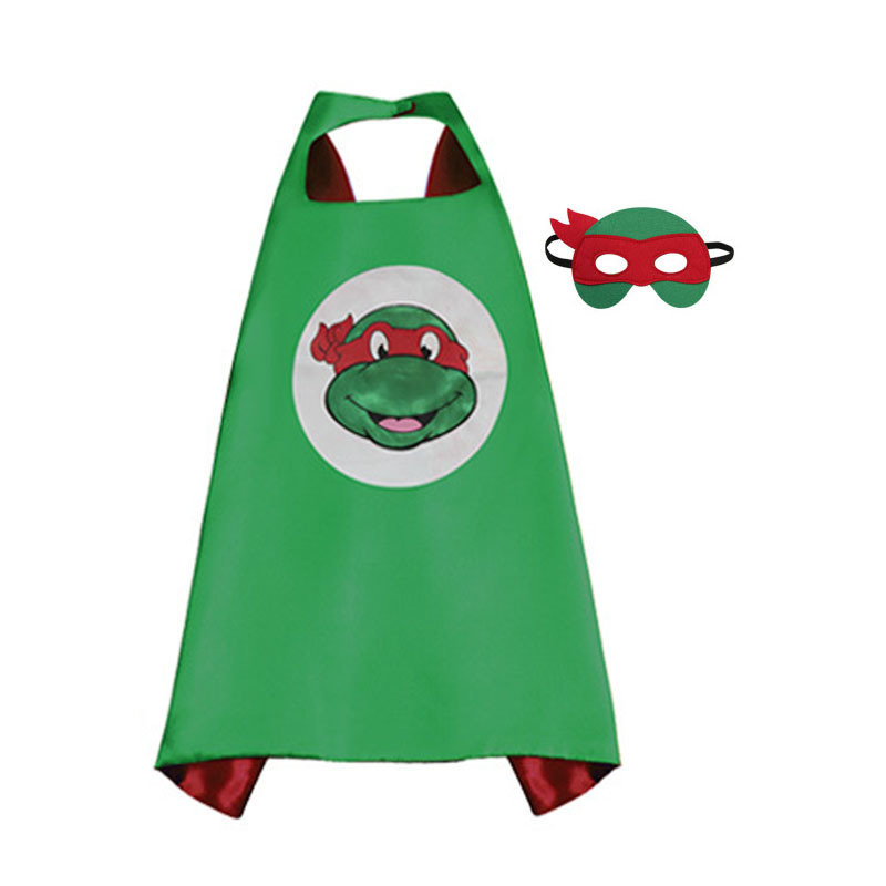 Traindrops Teenage Mutant Ninja Turtle Raphael Cape and Mask Set 00085