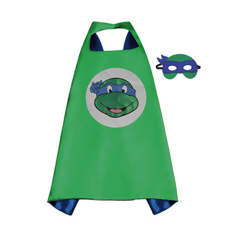 Traindrops Teenage Mutant Ninja Turtle Leonardo Cape and Mask Set 00086