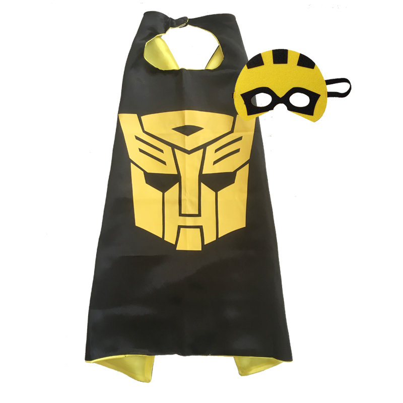 Transformer Bumble Bee Cape and Mask Set 00093